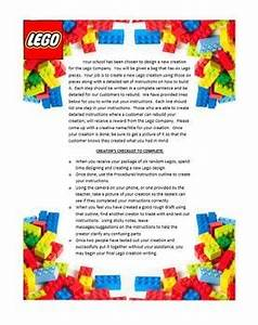expository writing the great lego creation challenge With cover letter for lego