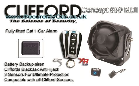 Clifford Concept 650|clifford Car Alarms