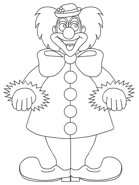 printable clown circus coloring pages coloringpagebookcom