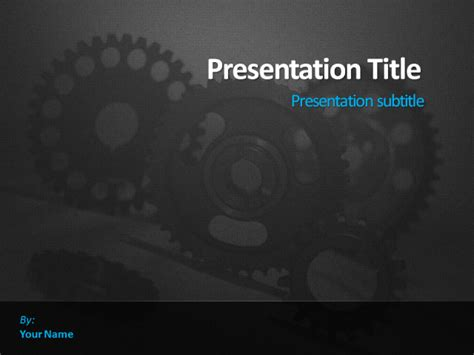 engineering themed powerpoint templates dynamic guru