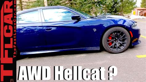 Is This an AWD 2018 Dodge Charger Hellcat High Altitude