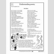 4th Grade Reading, Writing Worksheets Poems The Rabbit Greatschools