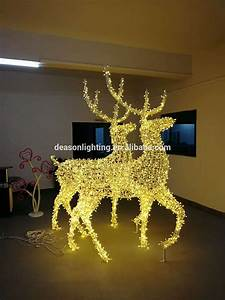Outdoor, Christmas, Decorations, Large, Led, Light, Reindeer