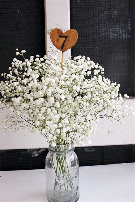 wooden table numbers for vintage wedding rustic wedding
