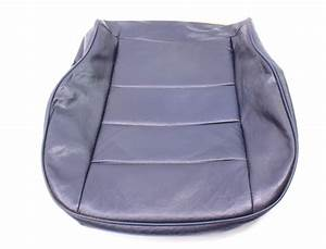 Front Blue Vinyl Lower Seat Cover 81