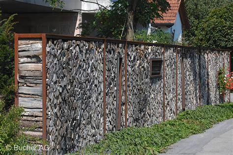 Holz Sichtschutz Windschutz Bildergalerie  Bucher Ag Widnau