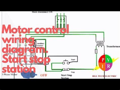 Motor Control Start Stop Station Wiring