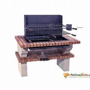 Barbecue En Dur : barbecue en pierre de sireuil caraibes achat vente ~ Melissatoandfro.com Idées de Décoration