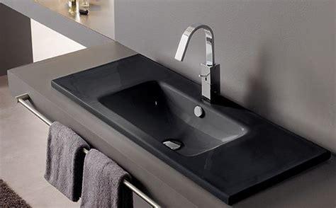 montevideo negro lavabos de porcelana  color bathco