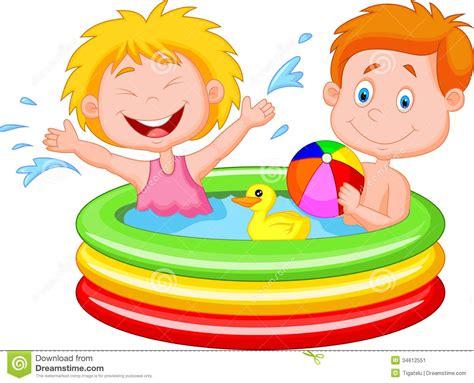 Kids Swimming Pool Clipart