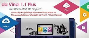 Da Vinci 3d Drucker : xyzprinting stellt da vinci 1 1 plus 3d drucker vor update verf gbarkeit ~ Orissabook.com Haus und Dekorationen