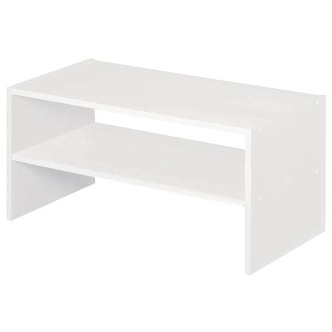 closetmaid selectives 24 in white stackable storage