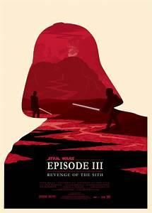 Poster Star Wars : pop art emporium ollie boyd 39 s star wars prequel print set ~ Melissatoandfro.com Idées de Décoration