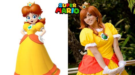 Super Mario Characters In Real Life Youtube