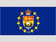Lt Governor New Brunswick Flag Royal and vice regal of