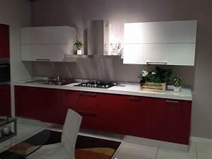 Scavolini Cucina Sax Moderna Laccato Lucido rossa Cucine