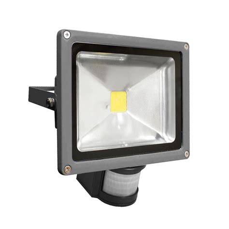 ledfl20w5ks residential 20w 5000k led sensor flood light