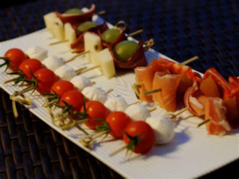 recette de cuisine facile et rapide avec photo minis brochettes apéritives froides par ma cuisine et vous