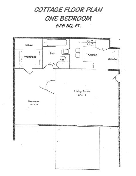 bedroom cottage floor plans  bedroom mobile homes