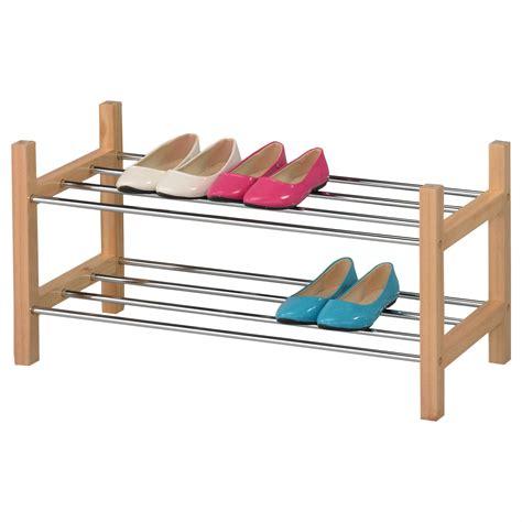 Schuhregal Schuhablage Schuhständer Schuhschrank Stapelbar
