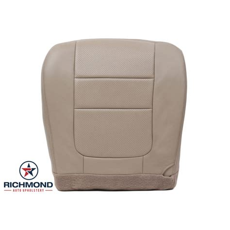 Richmond Auto Upholstery by 2001 Ford F 450 Lariat Perforated Leather Seat Cover