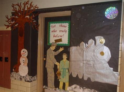 polar express classroom door decoration classroom