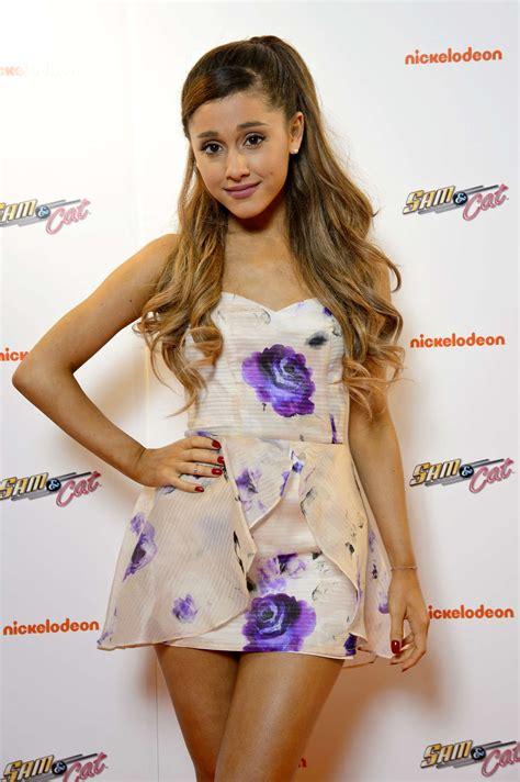 Ariana Grande At Sam And Cat Premiere 15 Gotceleb