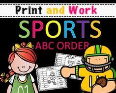 abc order center images abc order abc word work