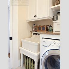 Vintage Laundry Room Faucet Design Ideas