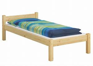 Bett 90x200 Holz : bett jugendbett kiefer massiv sehr stabil 90x200 ohne lattenrost or ~ Whattoseeinmadrid.com Haus und Dekorationen