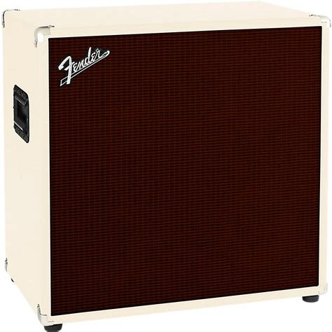 fender bassman 410 4x10 bass cabinet blonde oxblood
