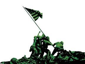 Soldier American Flag Clip Art