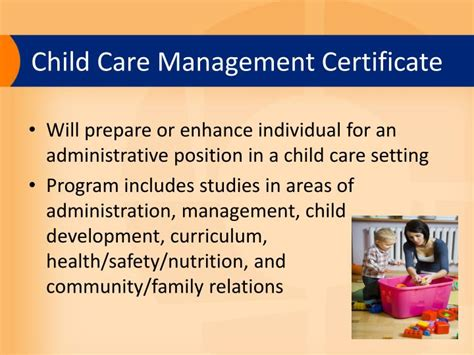 early childhood programs powerpoint