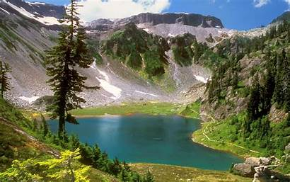 Nature Mountains Desktop Water Landscapes Trees Wallpapers13