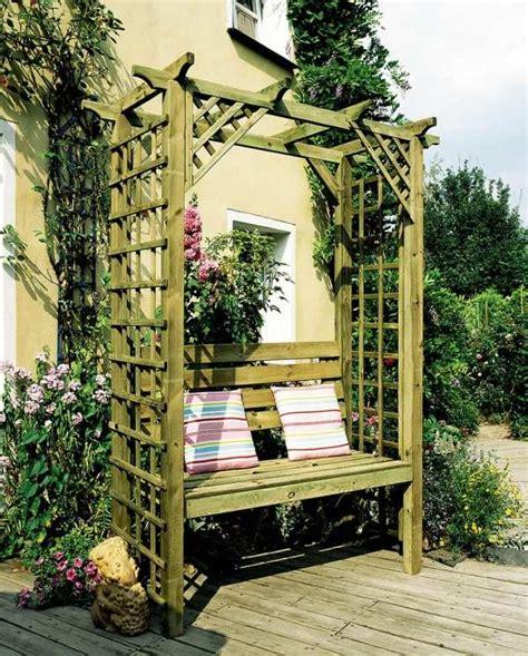 50 Coole Garten Ideen Für Pergolagartenbank Selber Bauen