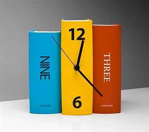 Creative Clocks By Karlsson Clocks - Bonjourlife
