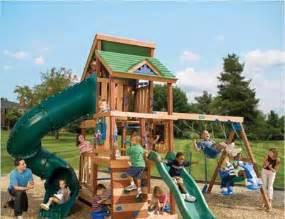 Children Playing On Playground for Kids