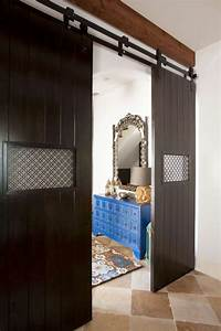 a texas town house goes moroccan zillow porchlight With custom barn doors houston