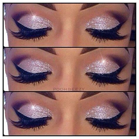 easy glitter eye makeup pictures   images  facebook tumblr pinterest  twitter