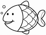 Goldfish Coloring Printable Pages Getcolorings Print sketch template
