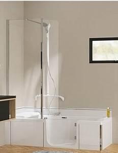 Baignoire A Porte Lapeyre : baignoire porte kineduo kinedo douche modul 39 eau ~ Premium-room.com Idées de Décoration