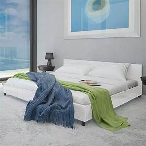 Bett 180 X 200 : kunstleder bett wei 180 x 200 cm g nstig kaufen ~ Eleganceandgraceweddings.com Haus und Dekorationen