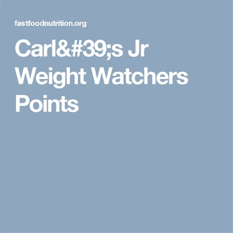 pin  weight watchers smart points