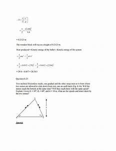 Physics Numericals For Class 11 Chapter 6