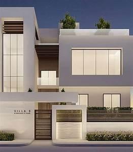 Esterno Di Una Casa Moderna Ispirazioni Su Decorazioni Per La Casa  Giardino  Interior Design