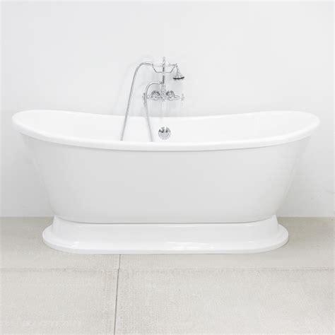 free standing whirlpool tubs vtabt73 73 quot air whirlpool bateau tub