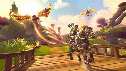 Rising Fenyx Immortals Harpy Attack 4k Wallpapers