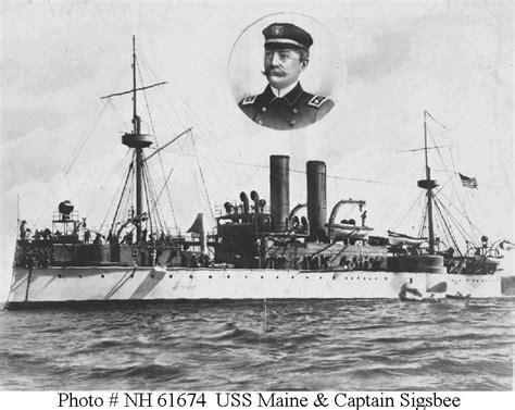 uss maine 1898 sinking usn ships uss maine 1895 1898