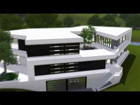Moderne Häuser Sims 3 by The Sims 3 House Ultra Modern B Mansion Hd Sims 3