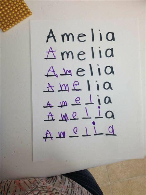 writing practice naomi preschool learning kids